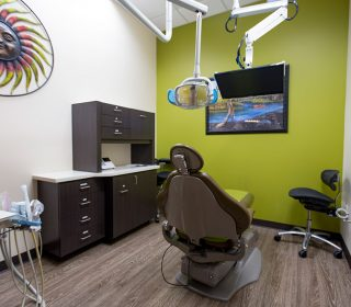 Dental Room at Alluring Smiles in Mesa, AZ - Dr. Javier Portocarrero