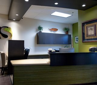 Welcome Area at Alluring Smiles in Mesa, AZ - Dr. Javier Portocarrero
