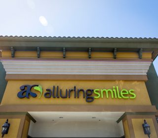 Entrance at Alluring Smiles in Mesa, AZ - Dr. Javier Portocarrero