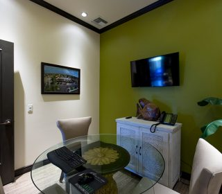 Viewing Room at Alluring Smiles in Mesa, AZ - Dr. Javier Portocarrero