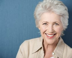 Confident Elderly Woman | Dental Crowns and Bridges | Alluring Smiles in Mesa, AZ - Dr. Javier Portocarrero
